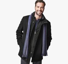 Plush Wool Car Coat