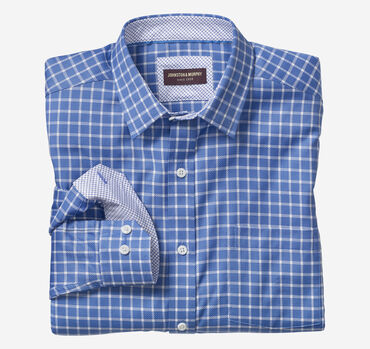 Dash Windowpane Dress Shirt