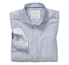 Italian Diagonal Dash Dress Shirt