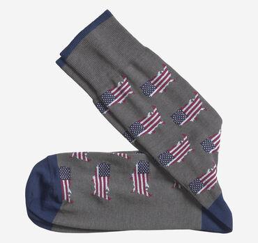 Patriotic Flag Socks