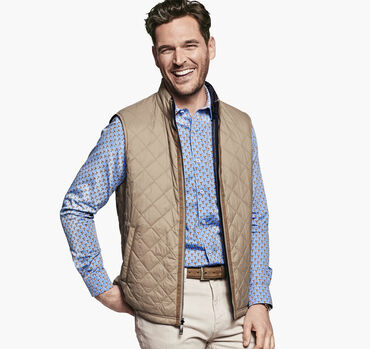 Reversible Quilted/Knit Vest