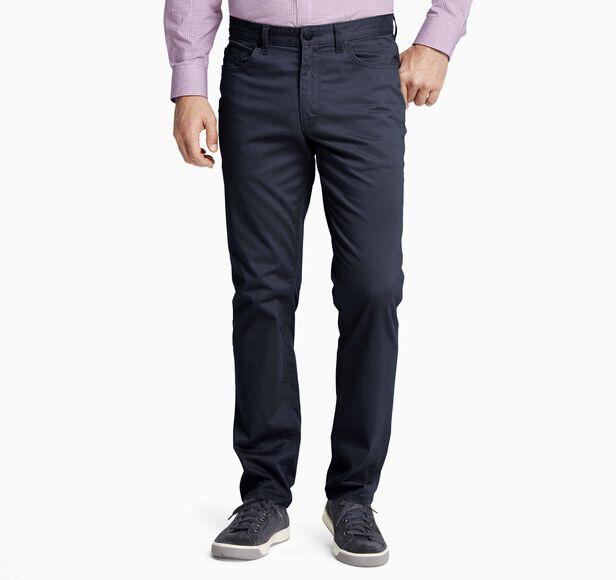 Slim Fit Five-Pocket Pants