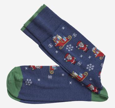 Santa & Sleigh Socks
