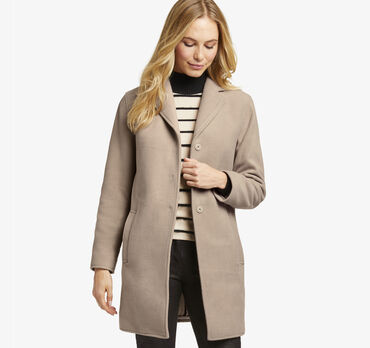 Microfleece Snap-Front Coat
