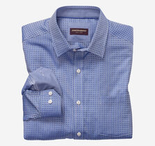 Framed Grid Dress Shirt