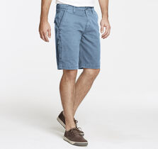 Washed Corded-Cotton Shorts