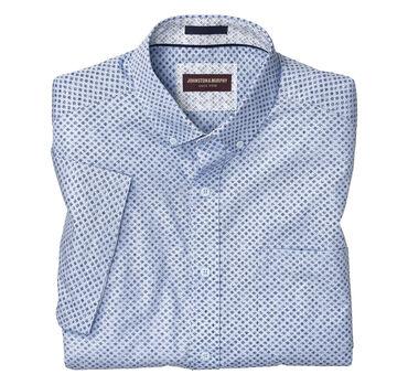 Petal Star Print Short-Sleeve Shirt