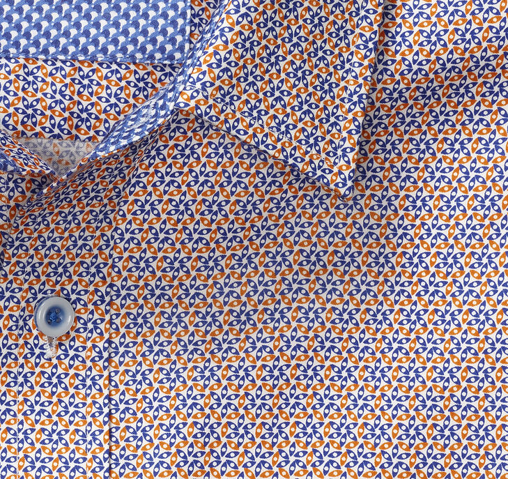 Pinwheel Petals Print Shirt