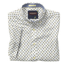 Pineapple Print Short-Sleeve Shirt
