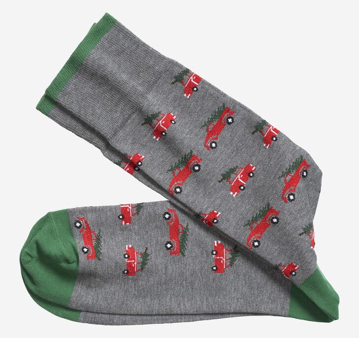 Christmas Truck Socks