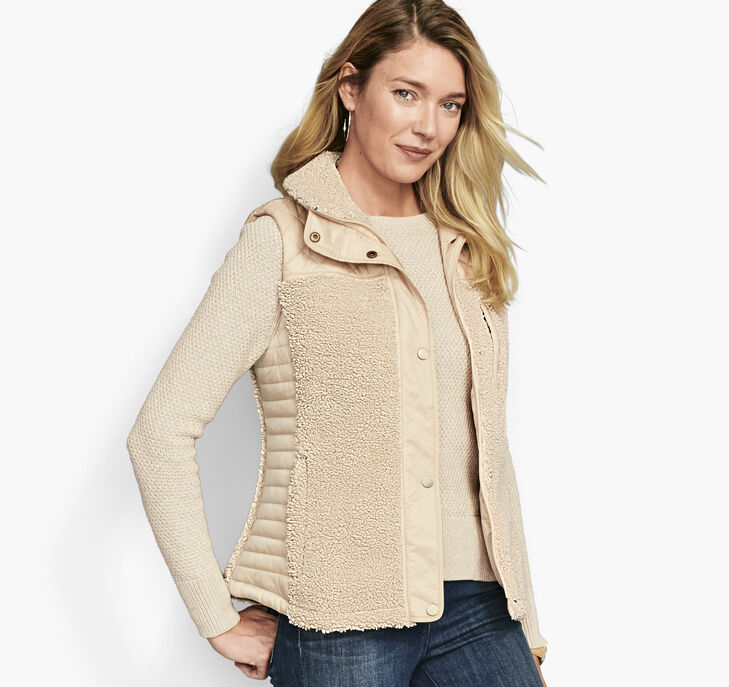 Mixed-Media Quilted Vest