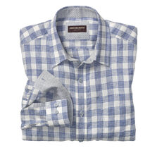 Gingham Washed Linen Shirt