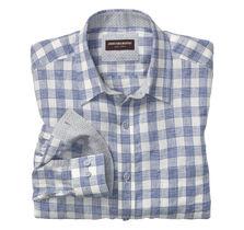 Gingham Washed Linen Shirt
