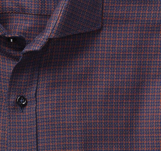 Italian Micro Houndstooth Shirt   Johnston & Murphy
