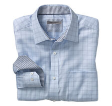 Herringbone Dash Windowpane Shirt