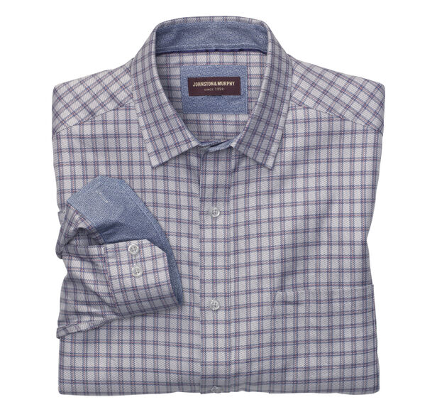 Zigzag Framed Rectangle Shirt