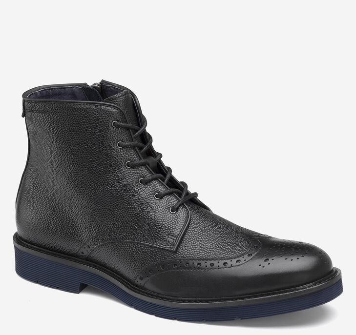 Kinley Wingtip Zip Boot