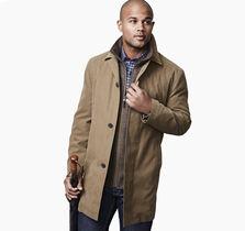 Modern Twill Raincoat