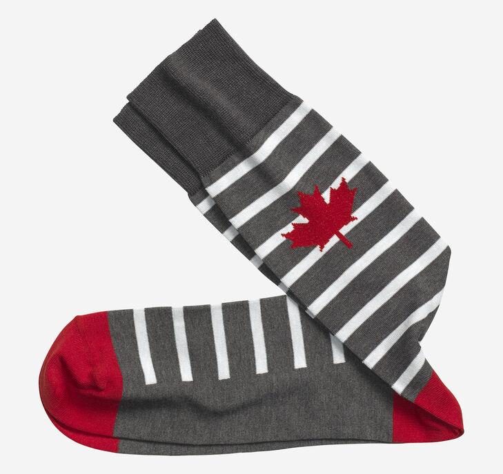Maple Leaf Socks