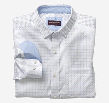 Step Grid Patterned Shirt
