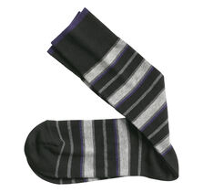 Wide Stripe Socks
