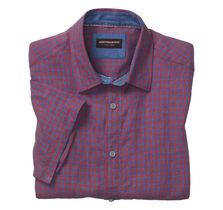Gingham Linen Camp Shirt