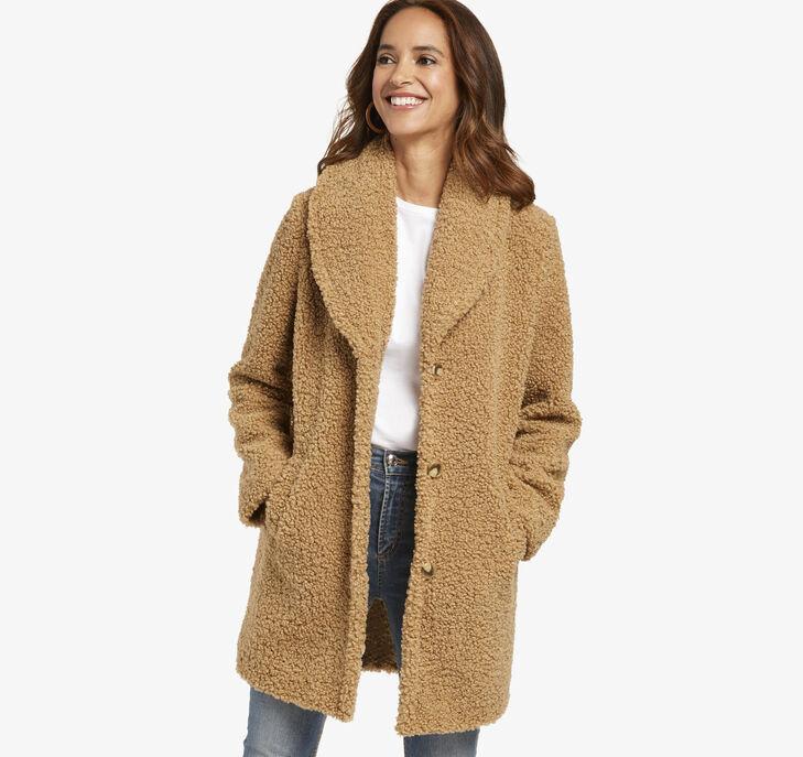 Curly Teddy Coat