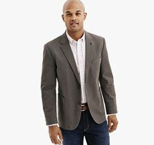 Circle Dot Cotton-Blend Blazer