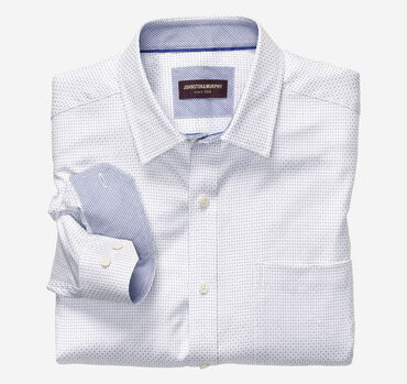 Alternating Dash Neat Dress Shirt