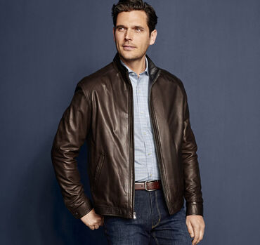Italian Glove Leather Jacket
