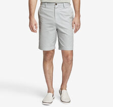 Garment-Washed Mini Check Shorts