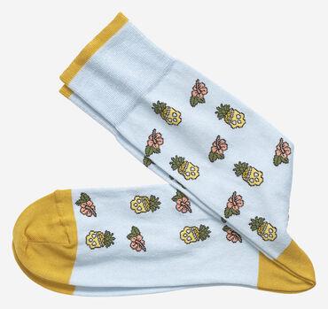 Pineapple Skull Socks