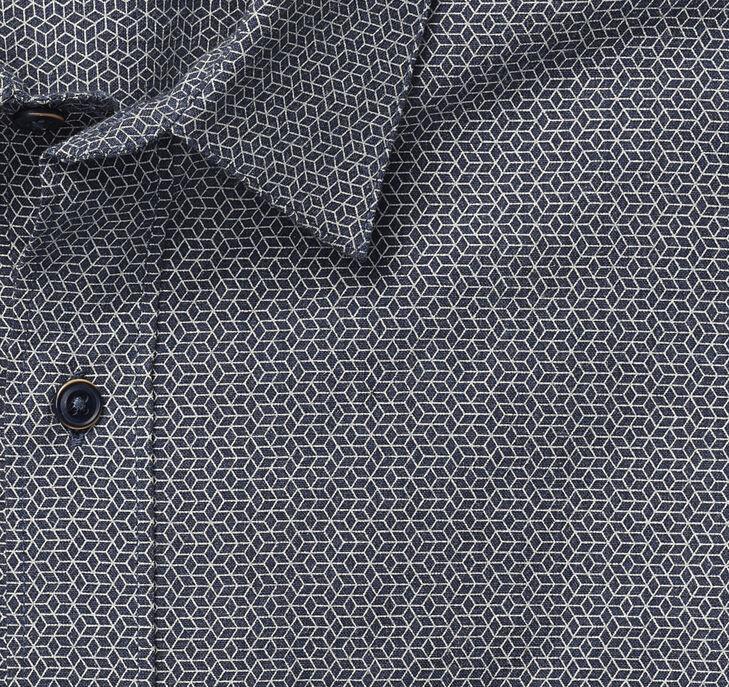 Woven/Knit Print Shirt