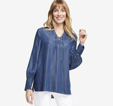 Lace-Up Popover