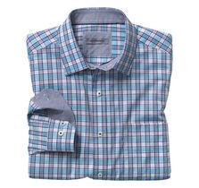 Shadow Slub Plaid Shirt