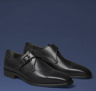 Parkes Single Buckle Monk