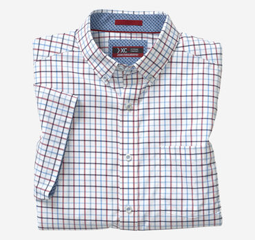 XC4 Line Box Short-Sleeve Stretch Shirt