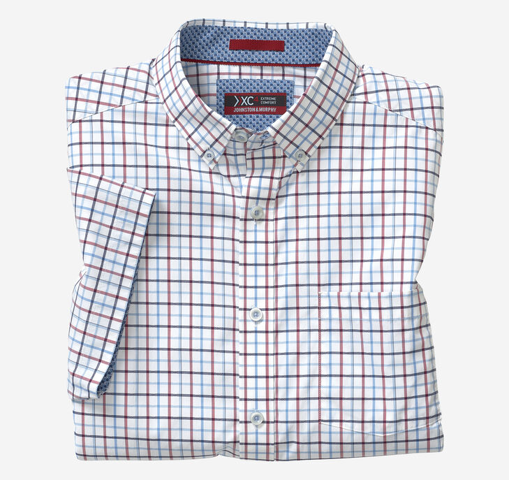 XC4® Line Box Short-Sleeve Stretch Shirt