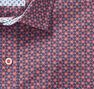 Stamped Flower Print Shirt