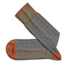 Diamond Grid Socks