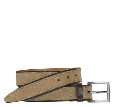 Stitched Suede Belt