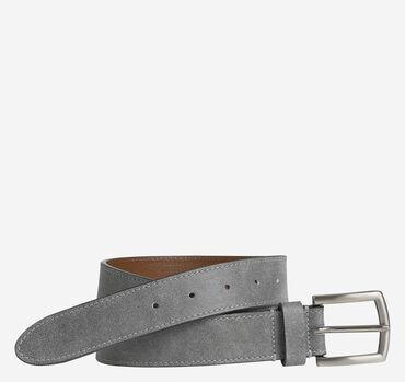Vintage Contrast-Stitch Belt