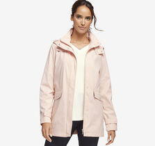 Sateen Hooded Jacket