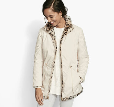 Reversible Faux-Fur Jacket