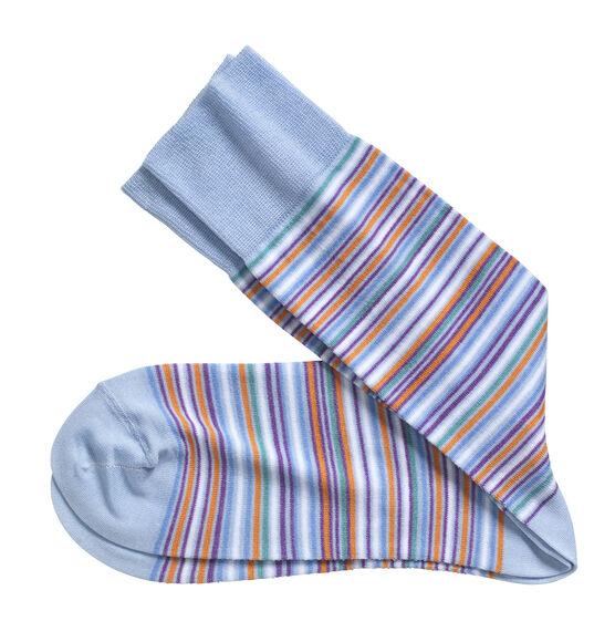 Multi Mini Stripe Socks