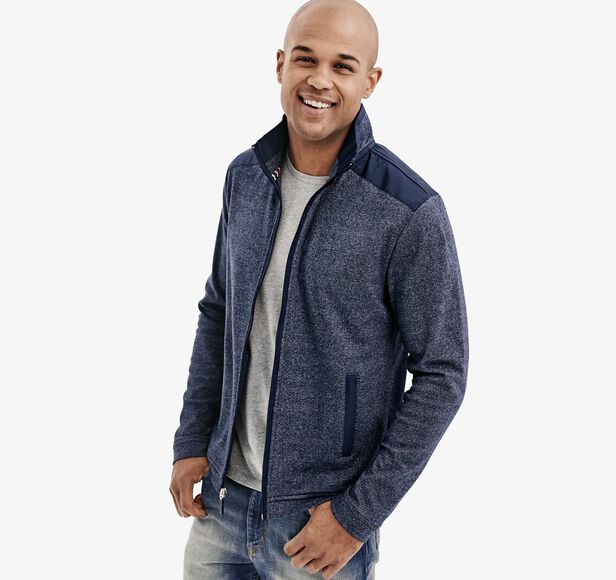 XC4® Marled Performance Knit Full-Zip