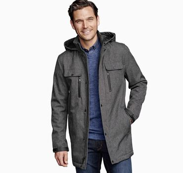Hooded Soft Shell Jacket