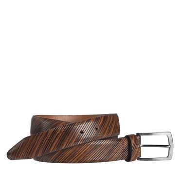 Diagonal-Etched Belt