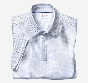 XC4® Diamond Dot Print Polo