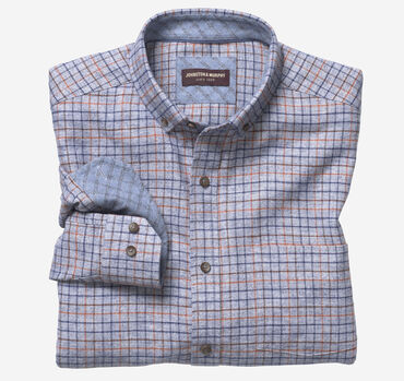 Recycled Cotton Long-Sleeve Shirt